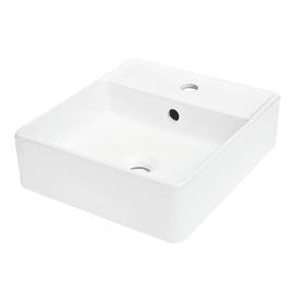 Lavabo Easy L 40.0 x P 40.0 cm in ceramica bianco