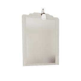 Specchio con faretto bagno rettangolare Laura L 80 x H 113 cm