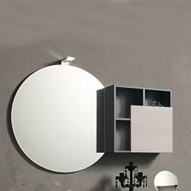 Specchio adesivo bagno rotondo Share Ø 79 cm
