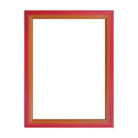Cornice INSPIRE BICOLOR rosso / arancione per foto da 61x91 cm