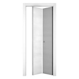 Porta pieghevole Star bianco matrix L 80 x H 210 cm sinistra