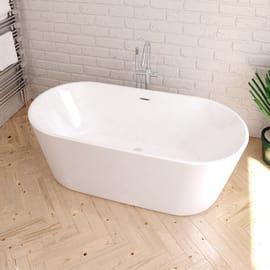 Vasca centro stanza Torino bianco 170 x 82 cm SANYCCES