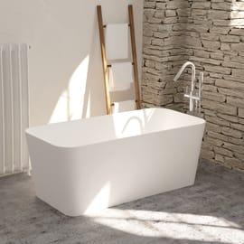 Vasca centro stanza Rust bianco 150 x 70 cm SANYCCES