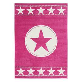 Tappeto Star kids rosa 160x120 cm