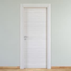 Porta a battente Pigalle palissandro bianco L 90 x H 210 cm reversibile