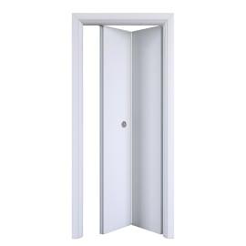 Porta pieghevole Pearl bianco L 80 x H 210 cm destra