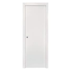 Porta scorrevole a scomparsa Strauss bianco L 60 x H 210 cm reversibile