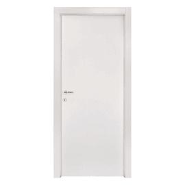 Porta a battente Strauss bianco L 70 x H 210 cm reversibile