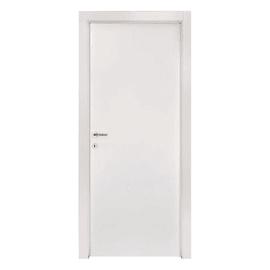 Porta a battente Strauss bianco L 80 x H 210 cm reversibile