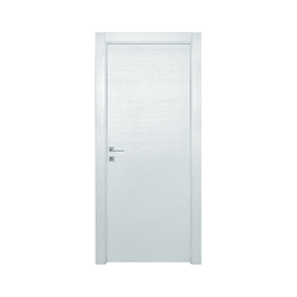 Porta a battente Star bianco matrix L 80 x H 210 cm reversibile