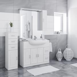 Mobili bagno prezzi e offerte mobiletti bagno sospesi o a for Mobilia mobili bagno
