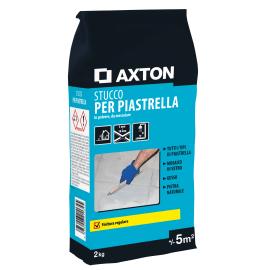 Stucco in polvere AXTON 2 kg grigio