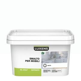 Pittura di ristrutturazione Mobile cucina LUXENS 2 lbianco