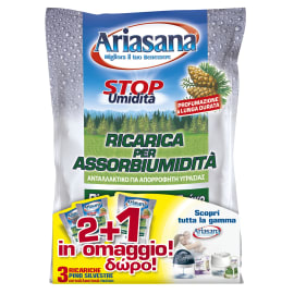 Kit assorbiumidità HENKEL Ariasana  profumo di pino 3x450g