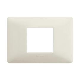 Placca BTICINO Matix 2 moduli bianco