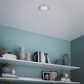 Faretto fisso da incasso tondo Manoa in metallo, grigio, diam. 12.28 cm LED integrato 9W 1000LM IP44 INSPIRE