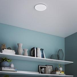 Faretto fisso da incasso tondo Manoa in metallo, bianco, diam. 17.28 cm 17.28cm LED integrato 15W 1660LM IP44 INSPIRE