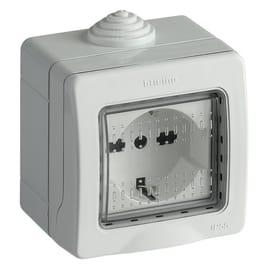 Scatola IP55 2 moduli