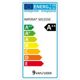 Lampadina LED GU10 faretto bianco caldo 9W = 900LM (equiv 66W) 120°