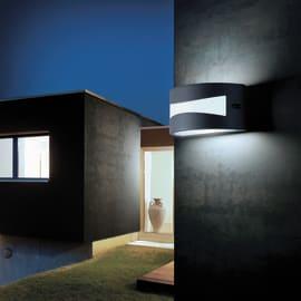 Applique Tibet LED integrato in alluminio, nero, 10W 700LM IP54