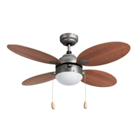 Ventilatore da soffitto Maurice ciliegio/faggio, in legno diam. 106cm, INSPIRE