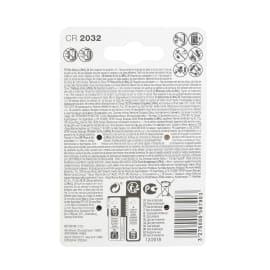 Batteria al litio CR2032/DL2032 LEXMAN 844982 4 batterie