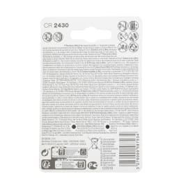 Batteria al litio CR2430/DL2430 LEXMAN 844979 2 batterie