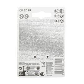 Batteria al litio CR2025/DL2025 LEXMAN 844955 2 batterie