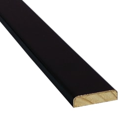 Piattina noce nero 20 mm x 2.4 m Sp 5 mm