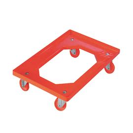 Carrello piattaforma 62 x 42 cm portata 250 kg