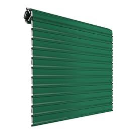 Tapparella avvolgibile in alluminio PINTO verde Sicurtapp su misura