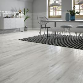 Pavimento pvc flottante clic+ Pale Sp 4.2 mm grigio / argento