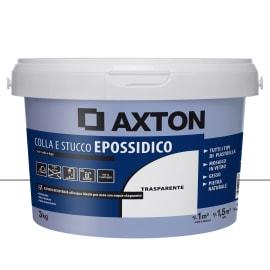 Stucco in pasta Epossidica AXTON 3 kg traslucido