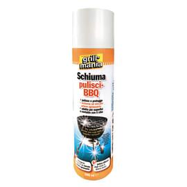 Prodotto detergente per pulitura barbecue in schiuma