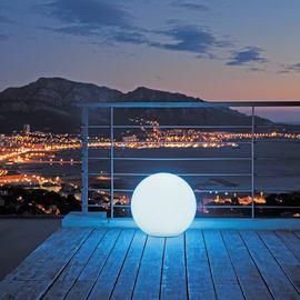 Lampada da esterno BOBBY C40 H40cm, in plastica, luce rgb, LED integrato 500LM IP66 LUMISKY