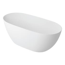 Vasca a isola ovale Lea Bianco 160 x 74 cm