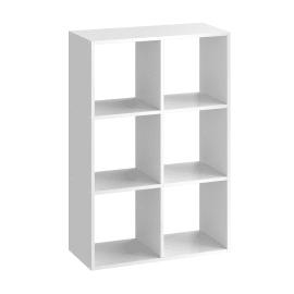 Scocca di armadio ripostiglio 6 cubi Kub SPACEO L 70.4 x H 104.8 x Sp 31.7 cm bianco