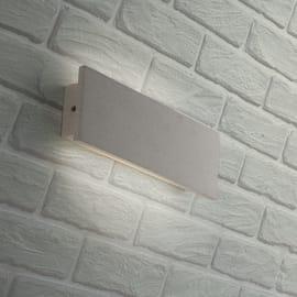 Applique PARKER-AP30 LED integrato in ceramica, bianco, 8W 400LM IP54
