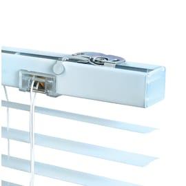 Veneziana INSPIRE Los Angeles in alluminio, bianco, 80x175 cm
