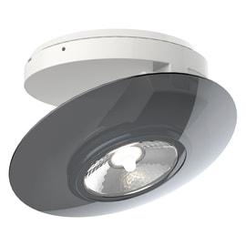 Faretto fisso da incasso orientabile tondo SPESG350 in plastica, grigio, diam. 11.6 cm 13.5xLED integrato 4,5W 300LM IP20 XANLITE