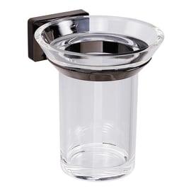 Bicchiere porta spazzolini Gran torino in acrilico trasparente