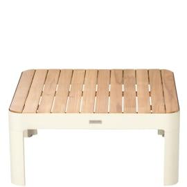 Tavolino da giardino quadrata Portals in alluminio L 72 x P 72 cm