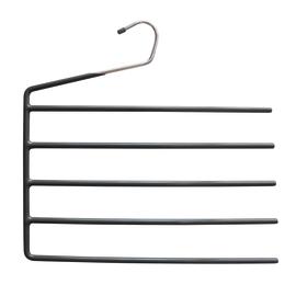 Gruccia Porta-pantaloni grigio L 33.5 x P 0.6 x H 35 cm