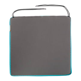 Cuscino per seduta Bigrey azzurro 40x3 cm