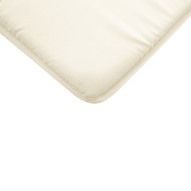 Cuscino per seduta Bigrey ecru 40x3 cm
