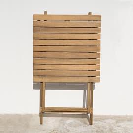 Set tavolo e sedie NATERIAL Porto in acacia marrone 2 posti