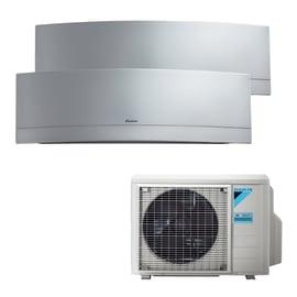 Climatizzatore dualsplit DAIKIN EMURA SILVER 9+9 13600 BTU classe A++