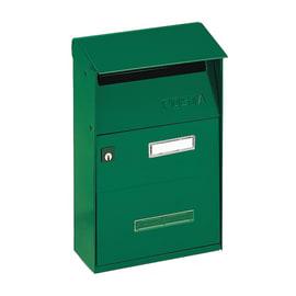 Cassetta postale formato Lettera, verde, L 21 x P 9.5 x H 30.5 cm