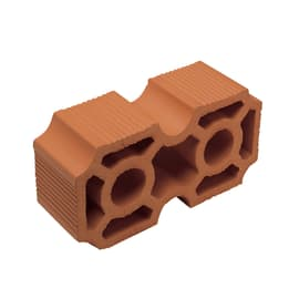 Frangisole in terracotta H 12 x L 25 x P 8 cm