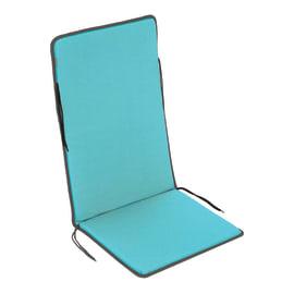 Cuscino monoblocco Bigrey azzurro 47x3 cm
